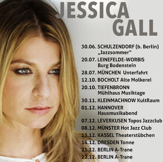 Jessica Gall on Tour @ Bremme-Hohensee